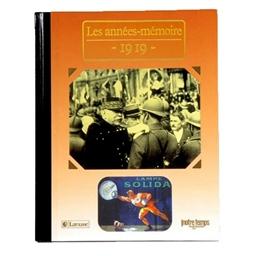 Collection Les années-mémoires : 1919