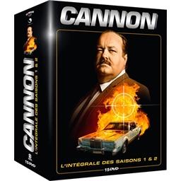 Coffret Cannon : saisons 1 et 2 : William Conrad, Dana Elcar…