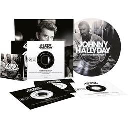 Boîte collector édition limitée et numérotée : JOHNNY HALLYDAY MON PAYS C'EST L'AMOUR