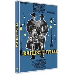 Rafles sur la ville : Marcel Mouloudji, Charles Vanel, Michel Piccoli