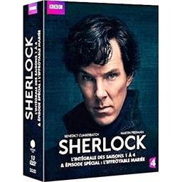 Sherlock - L'intégrale des saisons 1 à 4 : Benedict Cumberbatch, Martin Freeman, …