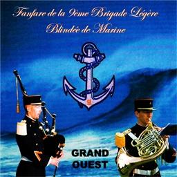 Fanfare de la 9ème Brigade Légère Blindée de marine : Grand Ouest - Nantes