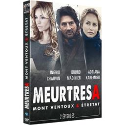 Meurtres à… étretat & Mont Ventoux : Frédéric Diefenthal, Ingrid Chauvin