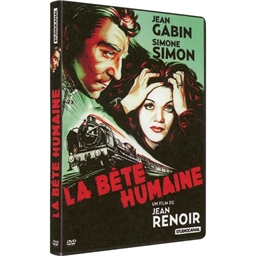 La Bête humaine : J. Gabin, S. Simon, B. Brunoy
