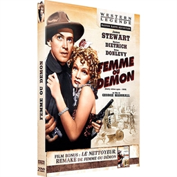 Femme ou démon : James Stewart, Marlène Dietrich… (DVD)