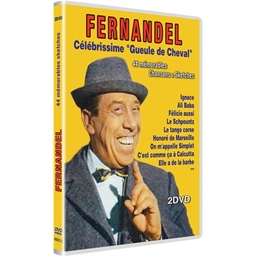 """Fernandel : Célébrissime """"Gueule de cheval"""""""
