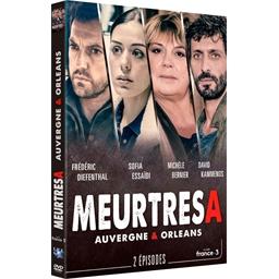 Meurtres à… Orléans et Auvergne : Frédéric Diefenthal, Michèle Bernier, …