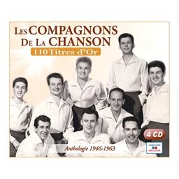 Les Compagnons de la Chanson : 100 titres d'or (4 CD)