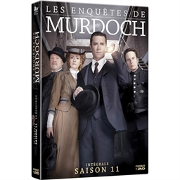 Les enquêtes de Murdoch - Saison onze : Yannick Bisson, Hélène Joy, …