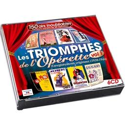 Les Plus belles Opérettes Françaises par leurs Créateurs (1930-1944) (Coffret 6CD)
