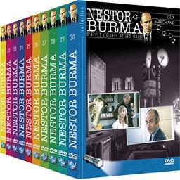 Nestor Burma - Volumes 21 à 30 : Guy Marchand, Pierre Tornade...