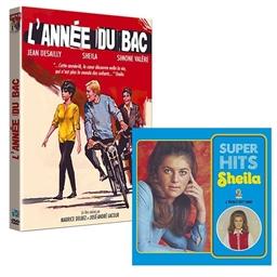 """le lot """"Sheila"""" CVD Supers Hits + DVD L'année du Bac"""