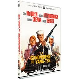 La canonnière du Yang-Tse : Steve McQueen, Richard Attenborough…