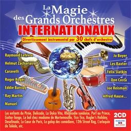 La magie des grands orchestres internationaux : Divertissement instrumental par 30 chefs d'orchestre (2CD)