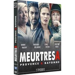 Meurtres à... Provence et Bayonne : Mimie Mathy, Mathieu Delarive, Cristina Réali, Lorie Pester…