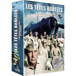 12 DVD Les têtes brûlées : Robert Conrad, Dirk Blocker…