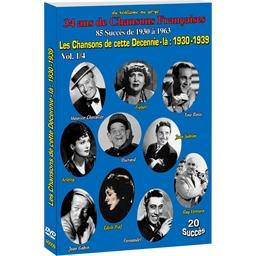 Les chansons de 1930 - 1939 (DVD)