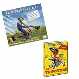 """Le lot CD """"À vélo""""+ DVD """"Le triporteur"""""""