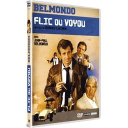 Flic ou voyou : Jean-Paul Belmondo, Michel Galabru...