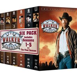 Walker, Texas Ranger – Saisons 1 à 6 : Chuck Norris, Clarence Gilyard Jr., …