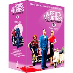 Les petits meurtres d'Agatha Christie : Samuel Labarthe, Blandine Bellavoir… Coffret 5 DVD