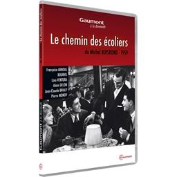 Le chemin des écoliers : Françoise Arnoul, Bourvil, Lino Ventura, Alain Delon,…