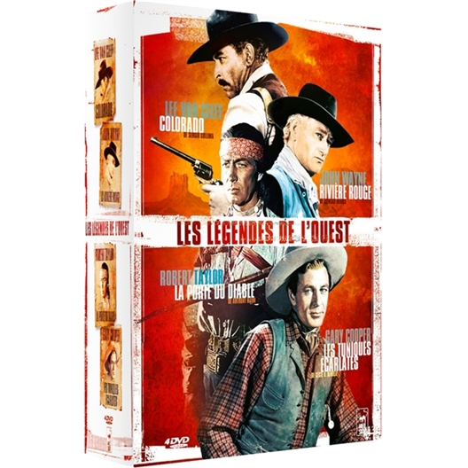 Les légendes de l'ouest : Coffret 4 DVD