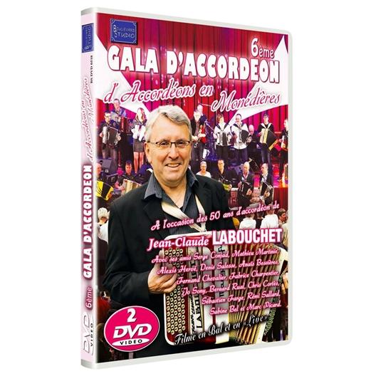 6ème gala d'accordéon en Monédières : Avec Jean-Claude Labouchet et ses amis accordéonistes
