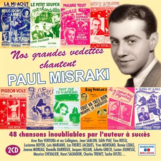 Ils chantent 48 chansons inoubliables de Paul Misraki