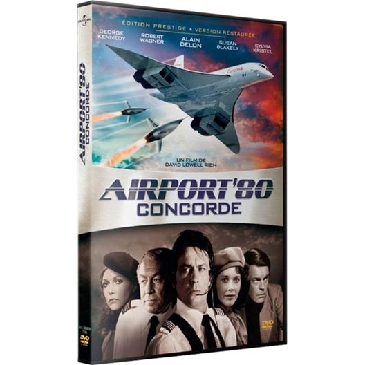 Airport'80 Concorde : George Kennedy, Robert Wagner, Alain Delon