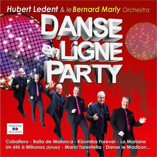 Danse en Ligne Party : Hubert Ledent et le Bernard Marly Orchestra