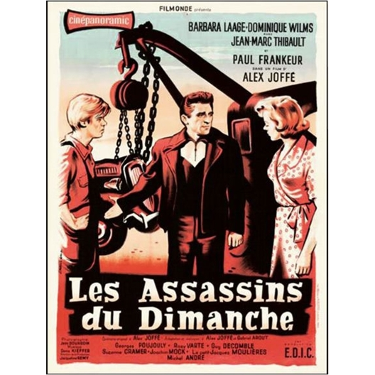 Les Assassins du Dimanche : Thibault, Laage, Frankeur