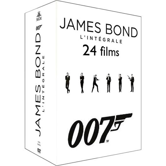 Bond : L'intégrale des 24 films