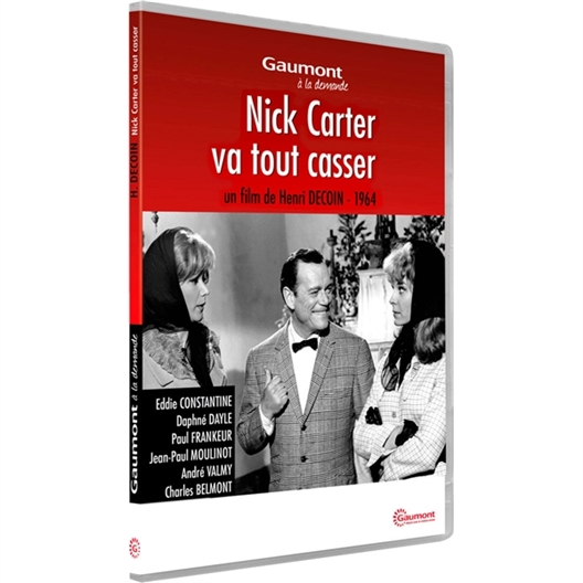 Nick Carter va tout casser : Eddie Constantine, Paul Frankeur