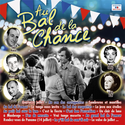 "CD ""Au bal de la chance"""