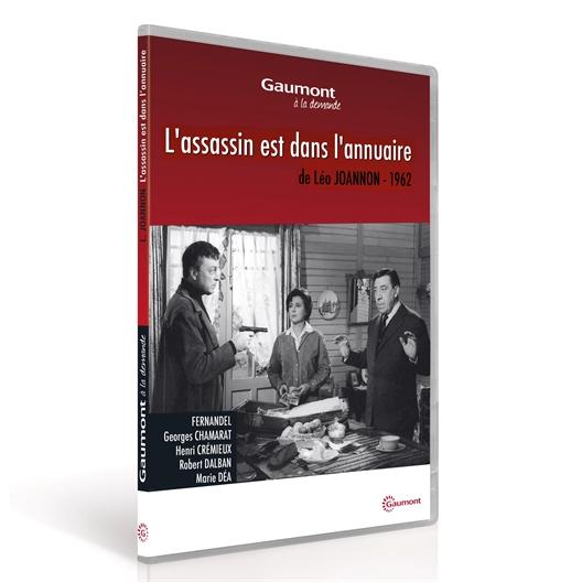 L'assassin est dans l'annuaire : Fernandel, Georges Chamarat…