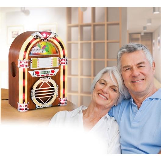 Le poste radio déco Juke Box : Retour au Juke-Box de notre jeunesse !