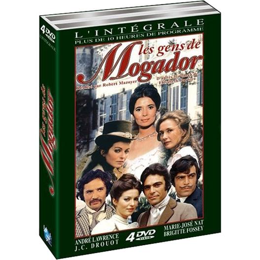 Marie-José NAT, Jean-Claude Drouot : Les Gens de Mogador 4 DVD