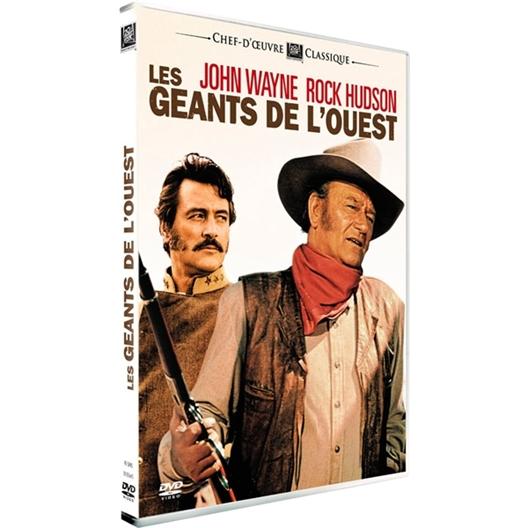 Les Géants de l'ouest : John Wayne, Rock Hudson…