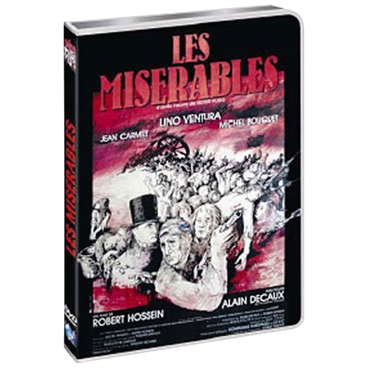 Les misérables : Lino Ventura, Jean Carmet, Michel Bouquet