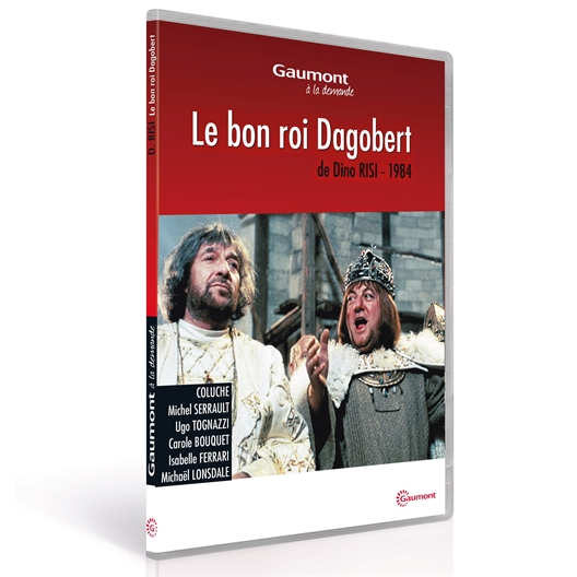 Le bon roi Dagobert : Coluche, Michel Serrault…