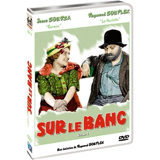 Sur le banc : Raymond Souplex, Jane Sourza (DVD)