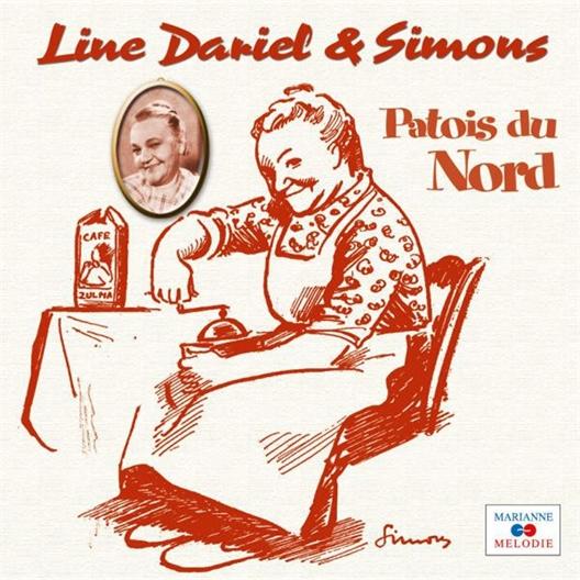 Line Dariel et Simons : Patois du Nord (2CD)