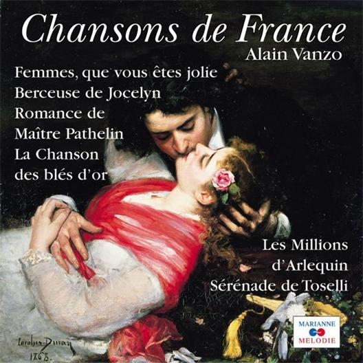 Alain Vanzo : Mélodies éternelles