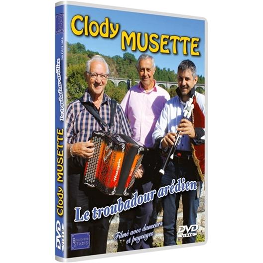 Clody Musette : Le troubadour arédien (DVD)