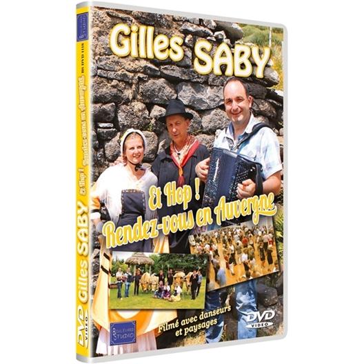 Gilles Saby : Et hop ! Rendez-vous en Auvergne (DVD)