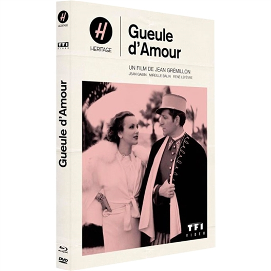 Gueule d'amour : Jean Gabin, Mireille Balin...