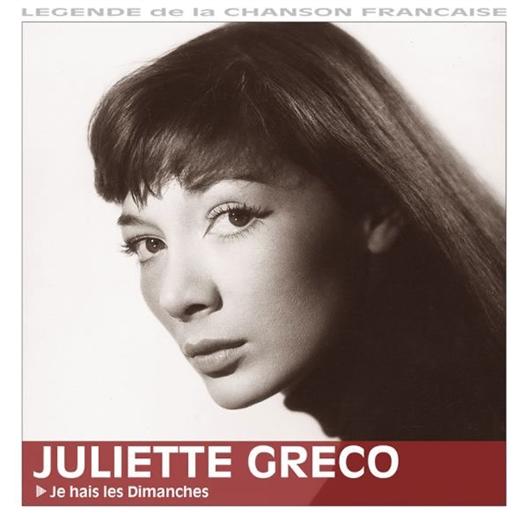 Juliette Greco : Je hais les dimanches