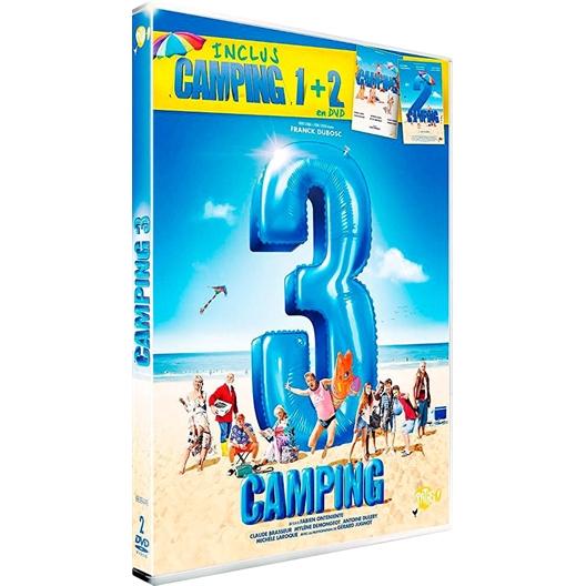 Camping 3, avec 1 et 2 : Franck Dubosc, Claude Brasseur,