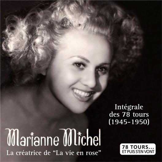 Marianne Michel L'intégrale des 78 tours de 1945 à 1950